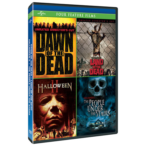 Dawn of the Dead/ George A. Romero's Land of the Dead/ Halloween II / The People Under the Stairs