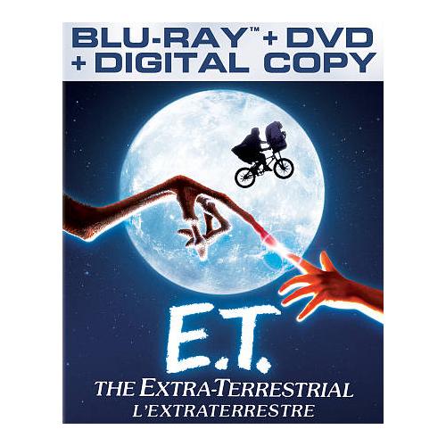 E.T. (Anniversary Edition) (Blu-ray Combo)