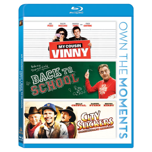 My Cousin Vinny/ Back To School/ City Slickers (Blu-ray)