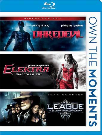 Daredevil/ Elektra/ The League Of Extraordinary Gentlemen (Version du réalisateur) (Blu-ray)