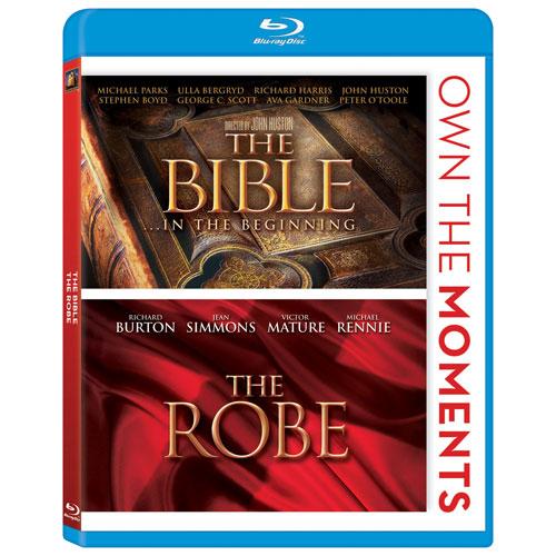 The Bible/ The Robe (Blu-ray)