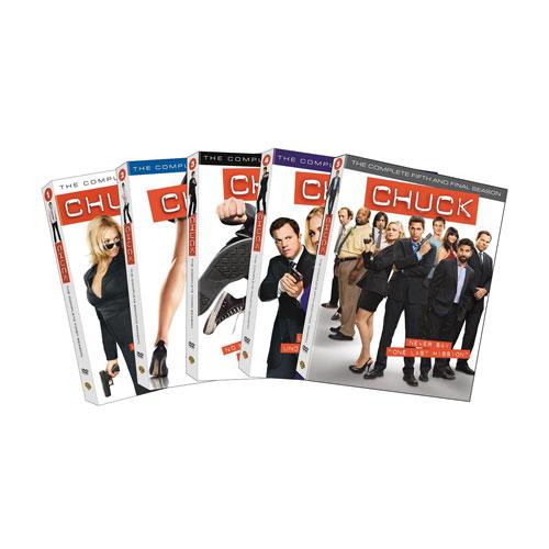 Chuck: Season 1-5