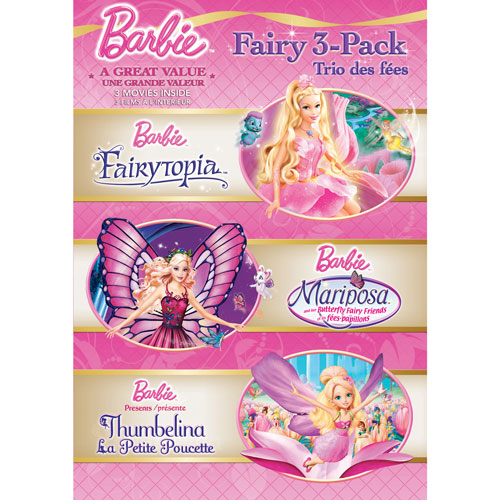 Barbie: Fairy 3 Pack