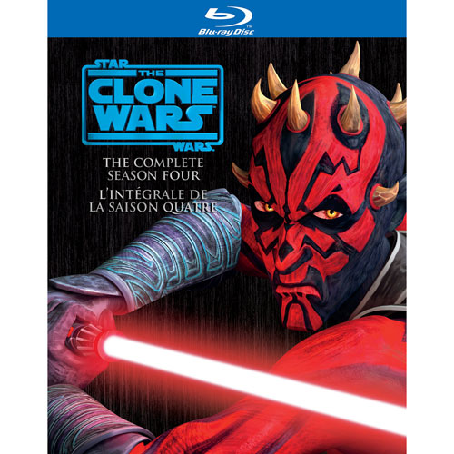Star Wars: The Clone Wars Season 4 (Bilingual) (Blu-ray)