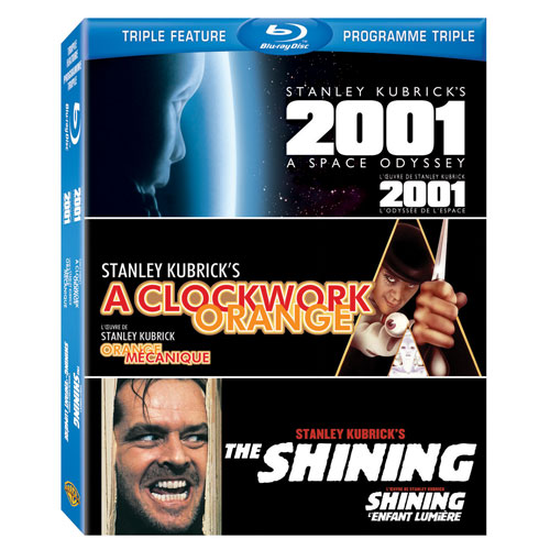 2001: A Space Odyssey/ Clockwork Orange/ Shining (Blu-ray)