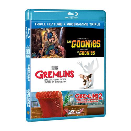 Goonies/ Gremlins/ Gremlins 2 (Blu-ray)