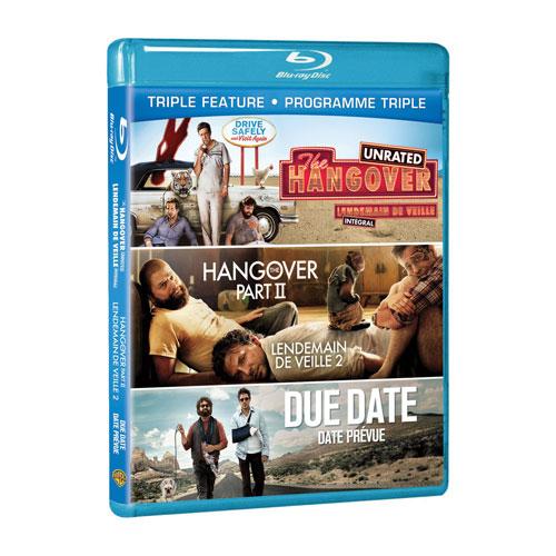 Hangover/ Hangover Part II/ Due Date (Blu-ray)
