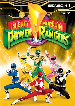 Mighty Morphin Power Rangers: Première saison, Volume