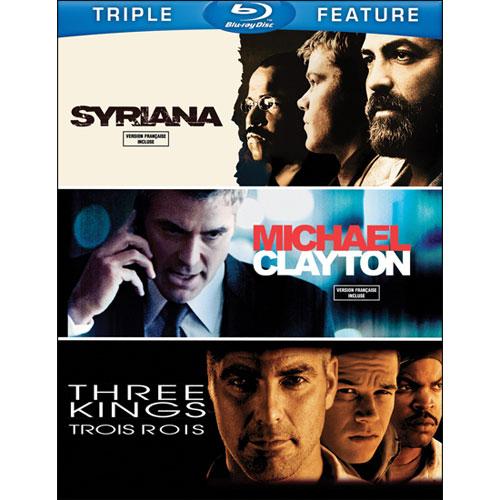 Syriana/Michael Clayton/Trois rois (Blu-ray)