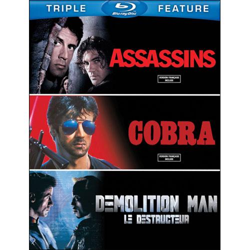 Assassins/ Cobra/ Demolition Man (Blu-ray)
