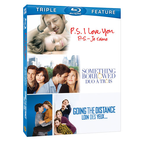 P.S. I Love You/ Something Borrowed/ Going The Distance (Blu-ray)