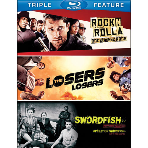 RocknRolla/The Losers/Swordfish (Blu-ray)