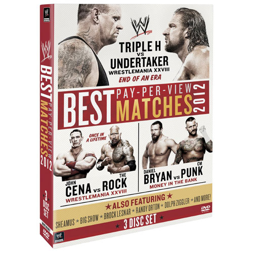 WWE 2012 - The Best Pay Per View Matches