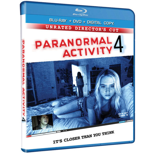Paranormal Activity 4 (Blu-ray) (2012)