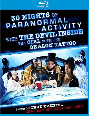 30 Nights of Paranormal Activity with the Devil Inside the Girl with the Dragon Tattoo (Blu-ray)