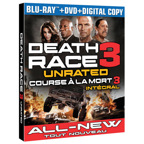 Death Race 3: Inferno (Combo de Blu-ray)