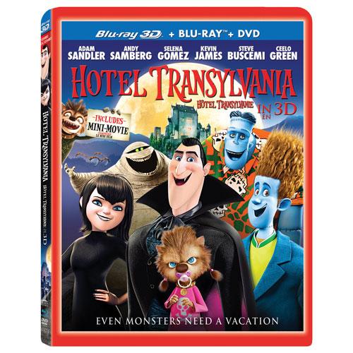 Hotel Transylvania (Combo 3D Blu-ray) (2012)