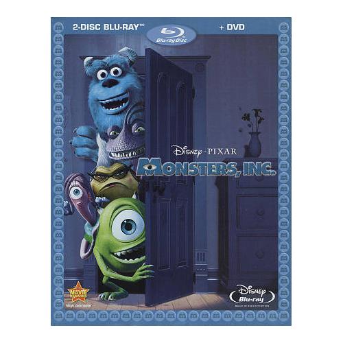 Monsters Inc. (Bilingue) (Combo de Blu-ray)