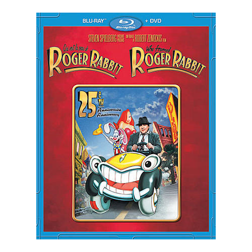 Who Framed Roger Rabbit (Bilingue) (Édition 25e anniversaire) (Blu-ray)