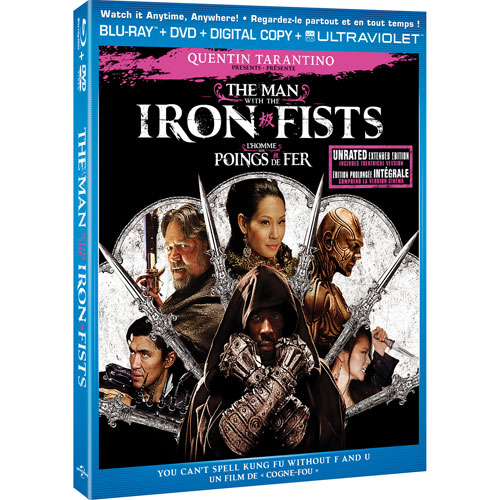 The Man With the Iron Fists (Blu-ray Combo)