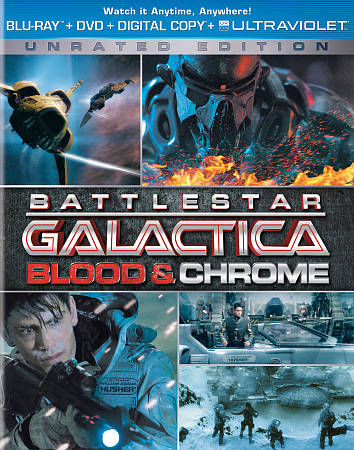 Battlestar Blood Chrome (Blu-ray Combo)