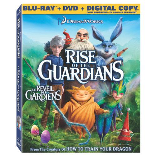 Rise Of The Guardians (Combo de Blu-ray) (2012)