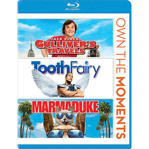 Gulliver's Travels/ Tooth Fairy/ Marmaduke (Blu-ray)
