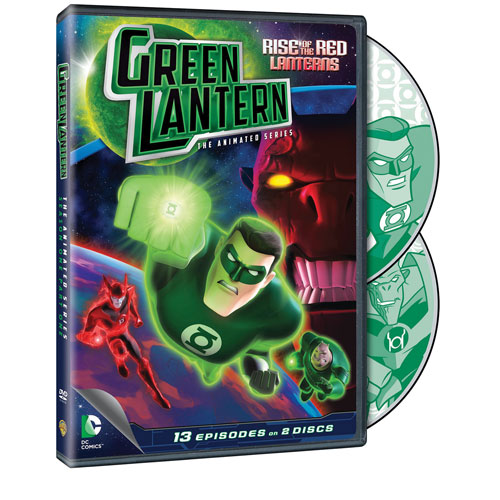 Green Lantern: Rise Of Red Lanterns saison 1, partie 1 (DC Universe)