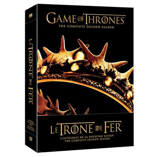 Game of Thrones: L'intégrale de la deuxième saison (Bilingue) (2012)