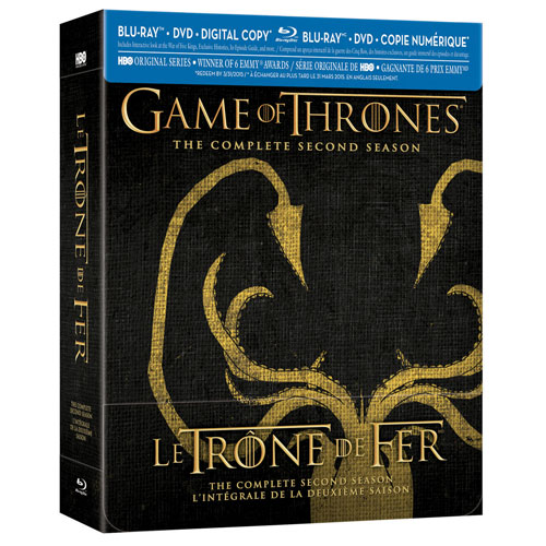 Game of Thrones: The Complete Second Season (Greyjoy Packaging) (Only at Best Buy) (Blu-ray Combo) (2012)