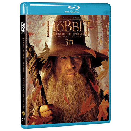 The Hobbit: An Unexpected Journey (Bilingual) (3D Blu-ray) (2012)