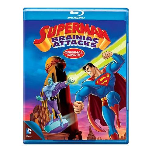 Superman: Brainiac Attacks (DC Universe) (Blu-ray)