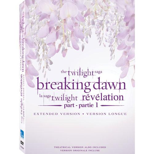Twilight Saga: Breaking Dawn P1 (édition prolongée)