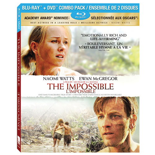 Impossible The (L'Impossible) (Combo Blu-ray)