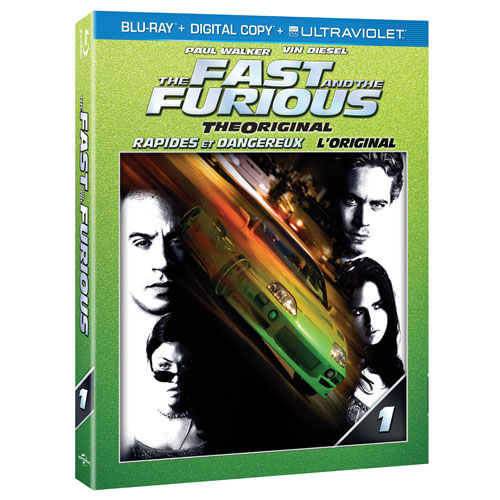 The Fast and the Furious (Blu-ray) (2001)