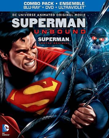 DC Universe: Superman: Unbound (Blu-ray)