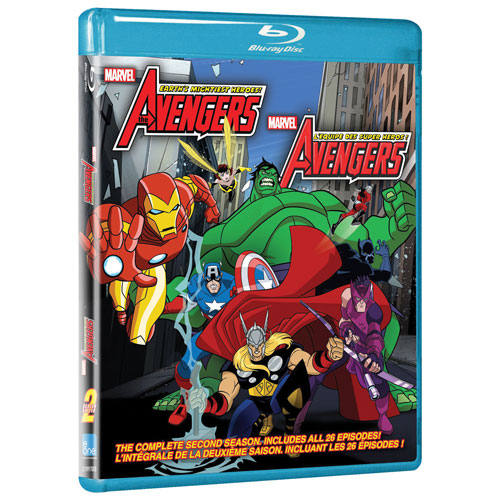 Avengers: Earth's Mightiest Heroes, saison 2, volume 2 (Blu-ray)