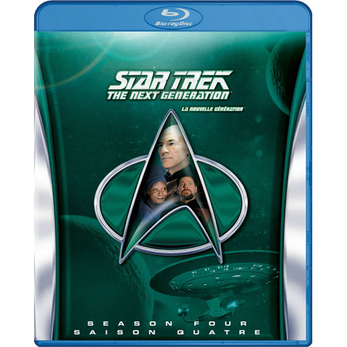 Star Trek : The Next Generation, Saison 4 (Blu-ray)