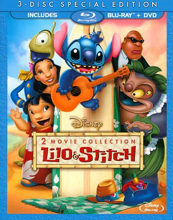 Lilo & Stitch 2 Movie (Bilingual) (Blu-ray Combo)