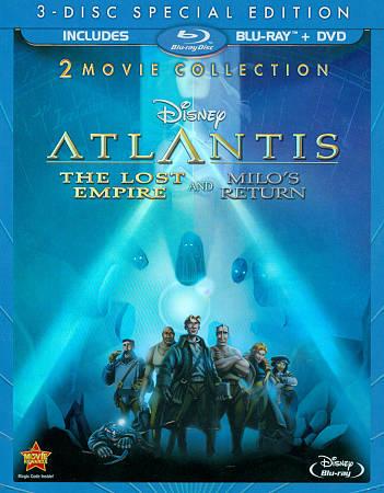 Atlantis: The Lost Empire/ Atlantis: Milo's Return (Blu-ray Combo)