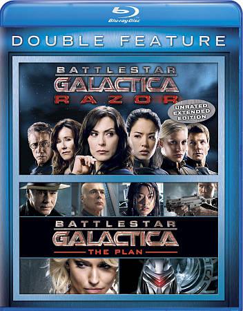 Battlestar Galactica: The Plan/Battlestar (Blu-ray)