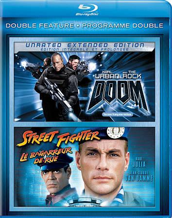 Doom/ Street Fighter (Blu-ray)
