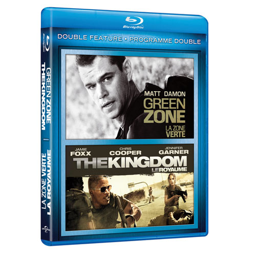 Green Zone/ Kingdom (Blu-ray)