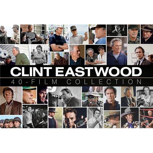 Clint Eastwood Collection - Coffret de 40 films