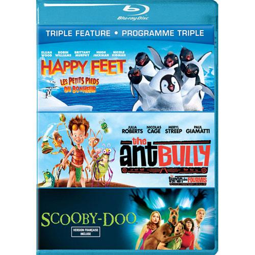 Happy Feet/ Ant Bully/ Scooby-Doo (Blu-ray)