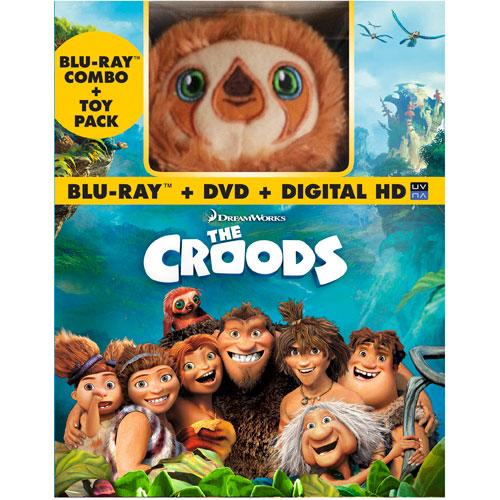 The Croods (Avec jouet en peluche) (Combo de Blu-ray) (2013)