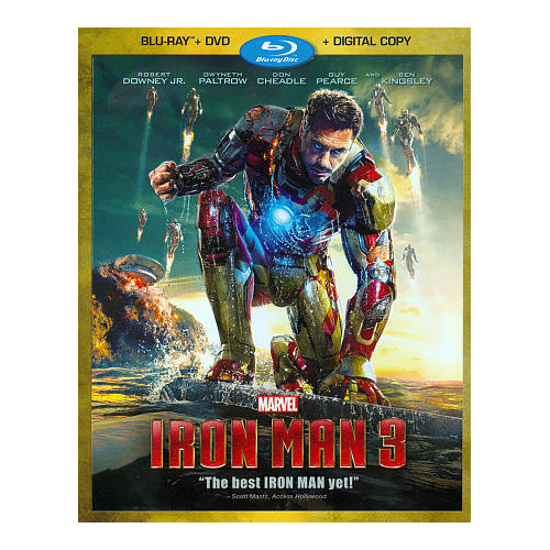 Iron Man 3 (Blu-ray Combo With Digital Copy) (2013)