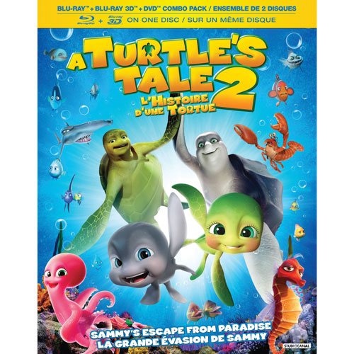 A Turtle's Tale 2: Sammy's Escape From Paradise (combo Blu-ray 3D)