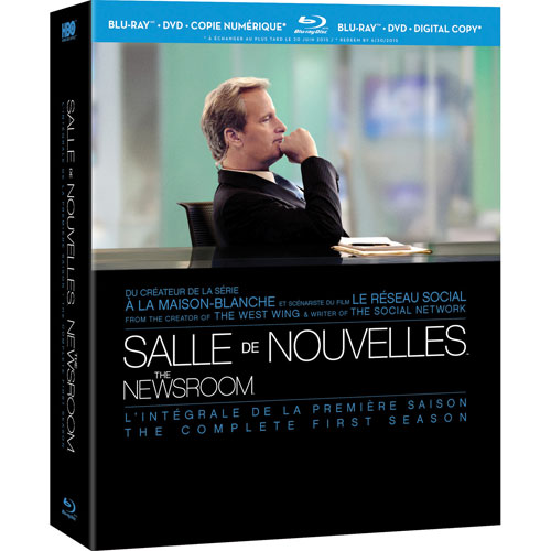 Newsroom: Complete First Season (French) (Blu-ray)
