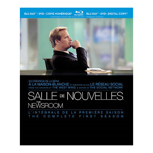 Newsroom: The Complete First Season (French)